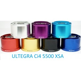 Spare Spools and accessories compatible with fishing reel shimano Ultegra CI4 xsa 5500