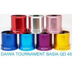 Spare Spools and accessories compatible with fishing reel daiwa Tournament Basia Qd 45