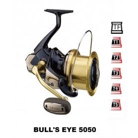 Bobinas y accesorios compatibles con carrete shimano Bull's eye 5050