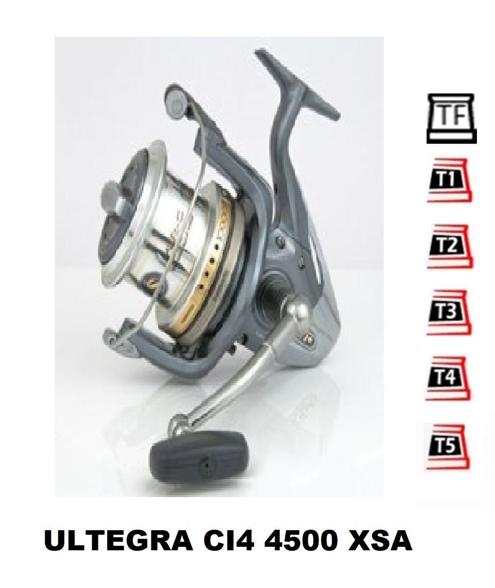 Spare Spools and accessories compatible with fishing reel shimano Ultegra Ci4 4500 Xsa