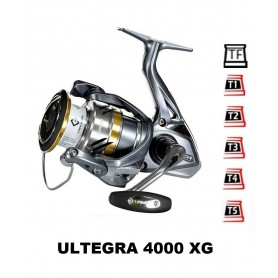 Bobinas y accesorios compatibles con carrete shimano Ultegra 4000 XG