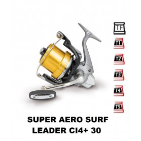 Spare Spools and accessories compatible with fishing reel shimano Super Aero Surf Leader ci4+ 30