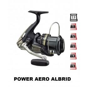 Bobinas y accesorios compatibles con carrete shimano Power Aero Albrid