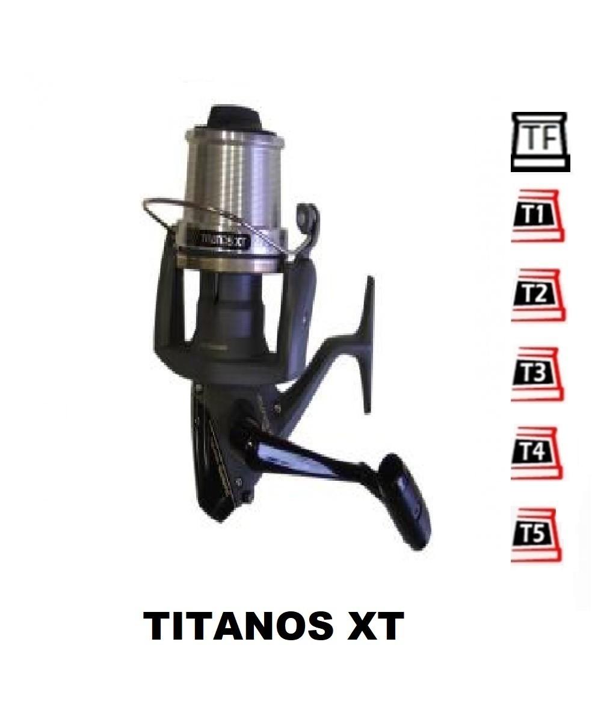Bobinas y accesorios compatibles con carrete shimano Titanos xt