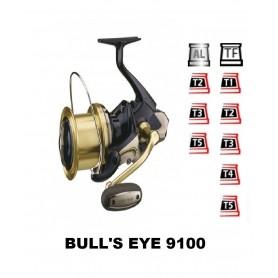 Bobinas y accesorios compatibles con carrete shimano Bull's eye 9100
