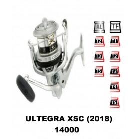 Bobinas y accesorios compatibles con carrete shimano Ultegra 14000 XSC (2018)