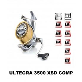 Bobinas y accesorios compatibles con carrete shimano Ultegra 3500 Xsd Comp