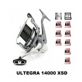 Bobinas y accesorios compatibles con carrete shimano Ultegra 14000 Xsd