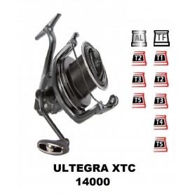 Bobinas y accesorios compatibles con carrete shimano Ultegra 14000 xtc