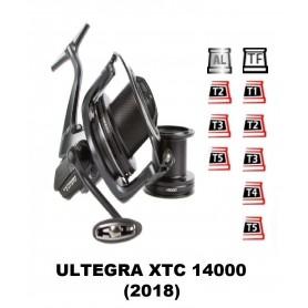 Bobinas y accesorios compatibles con carrete shimano Ultegra 14000 XTC (2018)