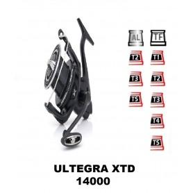 Bobinas y accesorios compatibles con carrete shimano Ultegra 14000 xtd