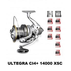 Bobinas y accesorios compatibles con carrete shimano Ultegra Ci4 14000 Xsc