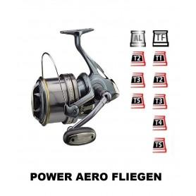 Bobinas y accesorios compatibles con carrete shimano Power Aero Fliegen