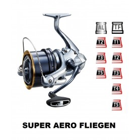 Spools and accessories compatible with fishing reel shimano Super Aero Fliegen