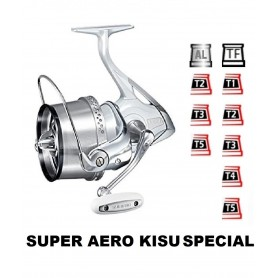Spools and accessories compatible with fishing reel shimano Super Aero Kisu Special