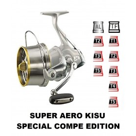 Spools and accessories compatible with fishing reel shimano Super Aero Kisu Special Compe Edition