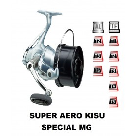Spools and accessories compatible with fishing reel shimano Super Aero Kisu Special MG